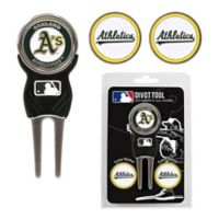MLB Oakland Athletics Divot Tool with Markers Pack