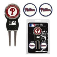 MLB Philadelphia Phillies Divot Tool with Markers Pack