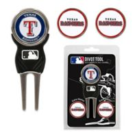 MLB Texas Rangers Divot Tool with Markers Pack