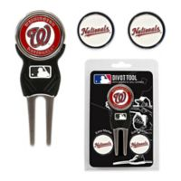 MLB Washington Nationals Divot Tool with Markers Pack