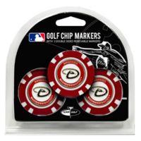 MLB Arizona Diamondbacks Golf Chip Ball Markers (Set of 3)