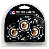 MLB Baltimore Orioles Golf Chip Ball Markers (Set of 3)