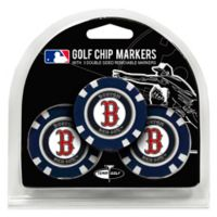 MLB Boston Red Sox Golf Chip Ball Markers (Set of 3)