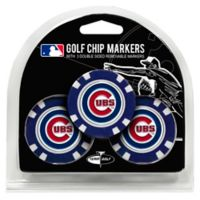 MLB Chicago Cubs Golf Chip Ball Markers (Set of 3)
