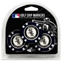 MLB Chicago White Sox Golf Chip Ball Markers (Set of 3)
