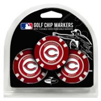 MLB Cincinnati Reds Golf Chip Ball Markers (Set of 3)