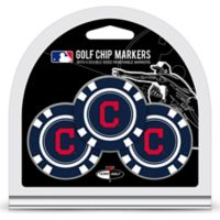 MLB Cleveland Indians Golf Chip Ball Markers (Set of 3)