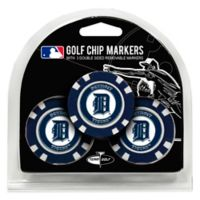 MLB Detroit Tigers Golf Chip Ball Markers (Set of 3)
