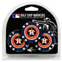 MLB Houston Astros Golf Chip Ball Markers (Set of 3)