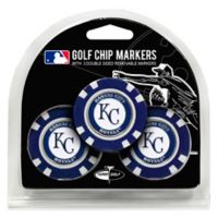 MLB Kansas City Royals Golf Chip Ball Markers (Set of 3)