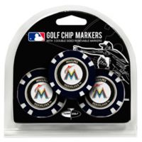 MLB Miami Marlins Golf Chip Ball Markers (Set of 3)