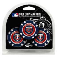MLB Minnesota Twins Golf Chip Ball Markers (Set of 3)