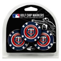 MLB Minnesota Twins Golf Chip Ball Markers (Set of 3)