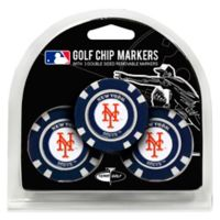 MLB New York Mets Golf Chip Ball Markers (Set of 3)
