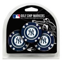 MLB New York Yankees Golf Chip Ball Markers (Set of 3)