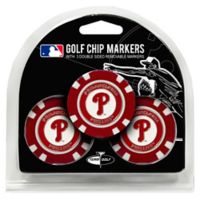 MLB Philadelphia Phillies Golf Chip Ball Markers (Set of 3)