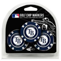MLB Tampa Bay Rays Golf Chip Ball Markers (Set of 3)