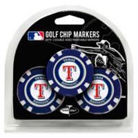 MLB New York Rangers Golf Chip Ball Markers (Set of 3)