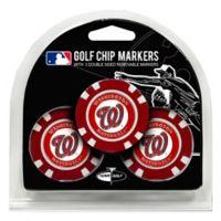 MLB Washington Nationals Golf Chip Ball Markers (Set of 3)