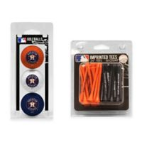 MLB Houston Astros Golf Ball and Golf Tee Pack