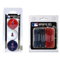 MLB Los Angeles Angels Golf Ball and Golf Tee Pack