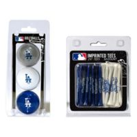 MLB Los Angeles Dodgers Golf Ball and Golf Tee Pack