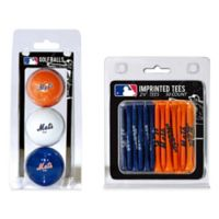 MLB New York Mets Golf Ball and Golf Tee Pack
