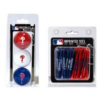 MLB Philadelphia Phillies Golf Ball and Golf Tee Pack