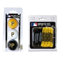 MLB Pittsburgh Pirates Golf Ball and Golf Tee Pack