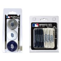 MLB San Diego Padres Golf Ball and Golf Tee Pack