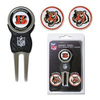 NFL Cincinnati Bengals Divot Tool with Markers Pack
