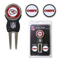 NFL Kansas City Chiefs Divot Tool with Markers Pack