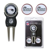 NFL New England Patriots Divot Tool with Markers Pack