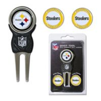 NFL Pittsburgh Steelers Divot Tool with Markers Pack