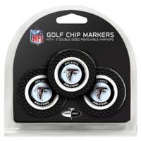 NFL Atlanta Falcons Golf Chip Ball Markers (Set of 3)