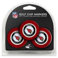 NFL Arizona Cardinals Golf Chip Ball Markers (Set of 3)