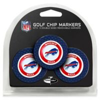 NFL Buffalo Bills Golf Chip Ball Markers (Set of 3)