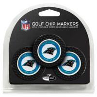 NFL Carolina Panthers Golf Chip Ball Markers (Set of 3)