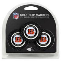 NFL Cincinnati Bengals Golf Chip Ball Markers (Set of 3)