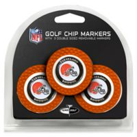 NFL Cleveland Browns Golf Chip Ball Markers (Set of 3)