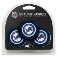 NFL Detroit Lions Golf Chip Ball Markers (Set of 3)