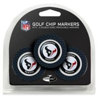 NFL Houston Texans Golf Chip Ball Markers (Set of 3)