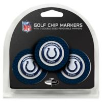 NFL Indianapolis Colts Golf Chip Ball Markers (Set of 3)