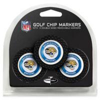 NFL Jacksonville Jaguars Golf Chip Ball Markers (Set of 3)