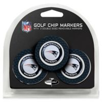 NFL New England Patriots Golf Chip Ball Markers (Set of 3)