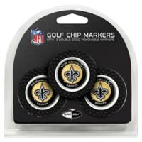 NFL New Orleans Saints Golf Chip Ball Markers (Set of 3)
