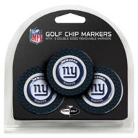 NFL New York Giants Golf Chip Ball Markers (Set of 3)