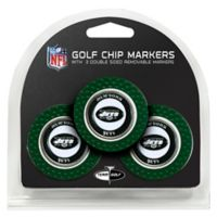 NFL New York Jets Golf Chip Ball Markers (Set of 3)