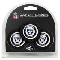NFL Oakland Raiders Golf Chip Ball Markers (Set of 3)