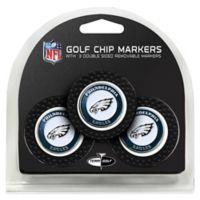 NFL Philadelphia Eagles Golf Chip Ball Markers (Set of 3)